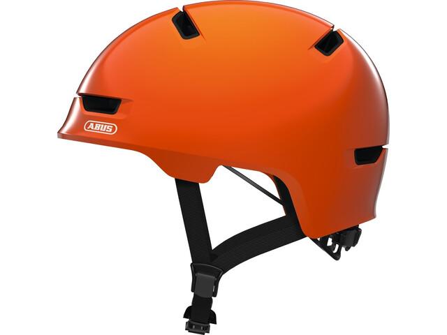 ABUS Scraper 3.0 Pyöräilykypärä Lapset, shiny orange